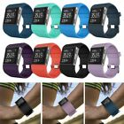 US Silicone Replacement Band Wrist Strap Bracelet w/ Tool Kit For Fitbit Surge