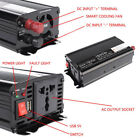 500W / 600W / 1200W / 1500W DC 12V Car Charger Modified Sine Wave Power Inverter