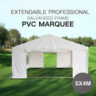 Premium PVC material Heavy Duty Marquee gazebo Tent 3x4m to 6x4m extendable