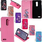 Bling Leather Flip Wallet Stand Case Cover For ZTE Z MAX Pro/Carry Z981/9560