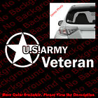 US ARMY VETERAN/Car/Window/laptop Vinyl Decal Sticker Die Cut Troops Elite AY007 $2.5 USD on eBay