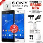 New&sealed Factory Unlocked Sony Xperia Z3 D6603 Black White 16gb Android Phone