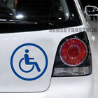 Various color/szie Handicapped Disabled Wheelchair Car Decal Bumper Sticker