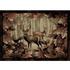 Whitetail Hunters Western Rug Various Sizes and Shapes with FREE Shipping