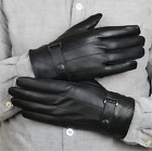 USWC MENS LEATHER GLOVES THINSULATE SOFT FEEL LINED WINTER WARM OUTDOOR WALKING