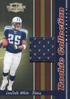2006 Donruss Threads Football Used Relic/Jersey Singles (Pick Your Cards) image