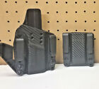 FOAM BACKED HOLSTER FIGHTER SERIES FITS GLOCK + MAGAZINE CARRIER  Tactical 9