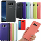 Genuine Official Silicone Shockproof Case Cover For Samsung Galaxy Note8 S8 Plus