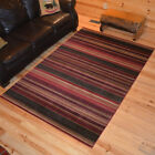 Medley Red Western Cabin Rug Various Sizes and Shapes with FREE Shipping