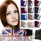 Invisible Seamless Skin Weft Tape in Indian Remy Human Hair Extensions UK Stock