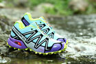 Hot Women's Running Shoes Salomon Speedcross 3 Outdoor Hiking Sneakers Athletic