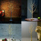 LED Silver Birch Twig Tree Warm White Light White Branches Home Decoration