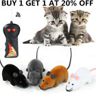 Electronic Remote Control Rat Mouse Toy Cat Dog Kid Prank Christmas Halloween