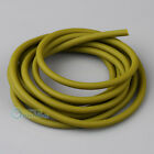Green 2x5mm Natural Latex Rubber Surgical Band Tube Elastic For Game 1/2/5/10M