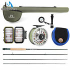 Внешний вид - Extreme 3/4/5/6/7/8/10WT Fly Rod Outfit/Combos Fishing Fly Reel Fly Line Flies