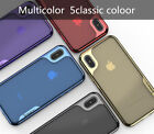 iPaky For iPhone X Case Cover PC Plating Bumper + Soft TPU Silicone Cover BJ