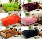 Fur Soft Duvet Cover Bedding Set Queen Flat Fitted Sheet High Quality 4/6Pcs UPS image