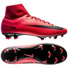 Nike Mercurial Victory VI FG  2017 Dynamic Fit Soccer Shoes Fire Red / Black