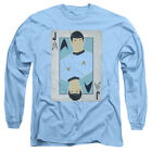 Star Trek Original Series TOS Spock as JACK Card Adult Long Sleeve T-Shirt S-3XL