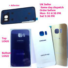 Samsung Galaxy S6 Edge SM-G925F Battery Back Cover Rear Glass Door + Adhesive