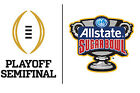 Two Tickets 2018 BCS Semifinal Allstate Sugar Bowl New Orleans 01/01/18