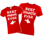 Best Mom Best Daughter Matching T-shirts. Mommy and Me. Disney Vacation. XS-3XL