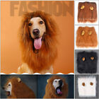 Pet Hat Lion Mane Wig with tail Dog Costume Festival Fancy Dress up 4 Colors