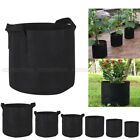 10 Pack Round Fabric Pots Plant Pouch Root Container Grow Bag Aeration Container