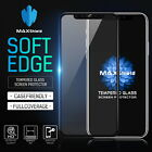 MAXSHIELD FULL TEMPERED GLASS SCREEN PROTECTOR FOR APPLE IPHONE X 8/7 7/8 Plus