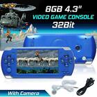 4.3 For PSP Portable Handheld Video 1000 Gaming Console Player Game Built-in 8GB