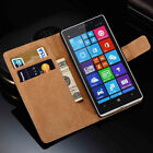 Premium Leather Flip Book Wallet Case Cover For All Nokia 8 3 5 & 6 Phones