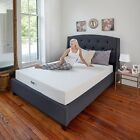 "8"" Gel-Infused Memory Foam Mattress Twin XL Size for Adjustable Bed Frame Kits"