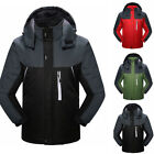 Men's Winter Warm Ski Snow Climbing Hiking Waterproof Sports Jacket Outdoor Coat