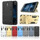 Hard Stand Heavy-Duty Armor Dual Layer Case Cover For Nokia 2,TA-1029 TA-1035