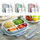 New Picnic Foods Lunch Box Hiking Trip Stainless Steel Insulated Container MK47