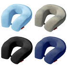 Large Memory Foam U Shaped Travel Pillow Neck Support Head Rest Airplane Cushion