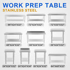NEW COMMERCIAL STAINLESS STEEL KITCHEN FOOD PREP SHELF WORK TABLE BENCH HOUSE