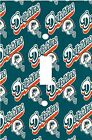 Miami Dolphins - Decorative Decoupage Light Switch Covers - Made To Order on eBay