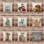 1Pc Animal Pet Throw Cushion Cover Home Decor Square Sofa Cover Pillow Case New