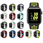 For Apple Watch 2 Rubber Sport Wrist Band Silicone Replacement Strap Band