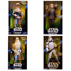 "Star Wars 12"" Figures 1996 NEW L Skywalker Sandtrooper Snowtrooper Moff Tarkin £56.95 GBP"