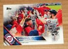 2016 Topps All-star Fanfest Silver Stamped Logo Washington Nationals PICK/CHOOSE