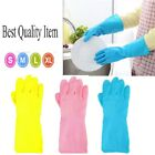 Strong Household Rubber Gloves Long Sleeve Washing Up Cleaning Gloves Kitchen