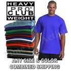 Pro Club Heavy Weight Short Sleeve Plain Basic Tall or Reg T shirts Tee S 7XL