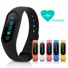 OLED IP67 M2 Smart Wristband Heart Rate Monitor BT 4.0 Bracelet For Android IOS