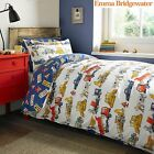"Emma Bridgewater "" Builders at Work"" childrens bed set, duvet cover and pillo..."