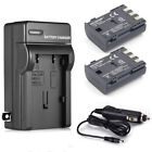 NB-2LH NB-2L Battery + Charger for Canon Rebel XT XTi EOS 350D 400D S30 G7 G9