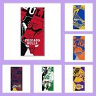 "NBA Licensed Puzzle Beach Towel Bath Towel 34"" x 72"" Pool - Choose Your Team"