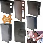 Unisex Gents Soft Genuine Leather Wallet Credit Cards Christmas Birthday Gift