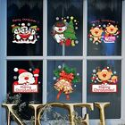 wallpaper for decorating walls - Christmas Wall Sticker Wallpaper Removable Home Christmas Decor For Window 3Pack